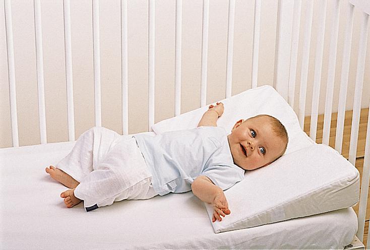 Наклонная подушка для детей своими руками