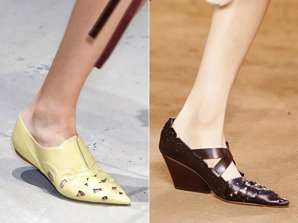 Модные ли туфли с острым носом