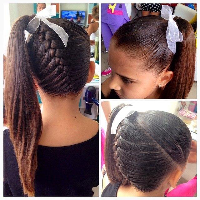 Прически для девочек на тонкие волосы своими руками
