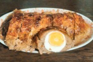 Мясной хлебец с яйцами: альтернатива котлетам